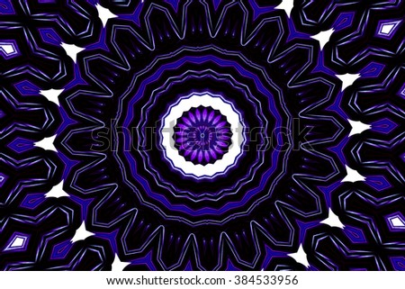 colorful abstract in purple and white