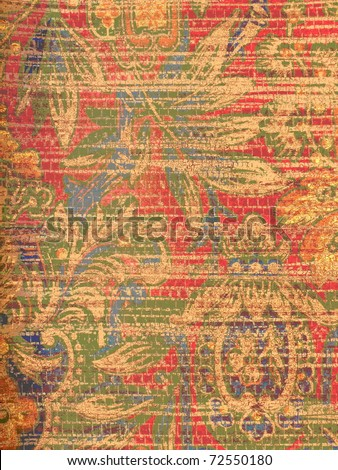 colorful abstract oriental style background. More of this motif & more ornaments in my port.