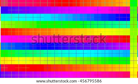 colorful abstract pattern on white background,grid,line