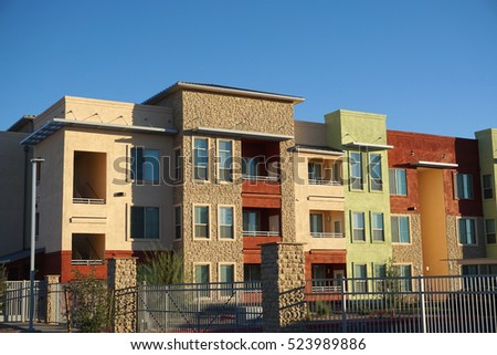 Apartment Complex Stock Images Royalty Free Images Vectors