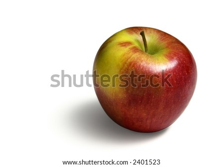 Colorful Apple - stock photo