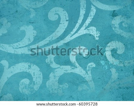 colorful arabian style elegant decor. More off this motif & more backgrounds in my port. - stock photo