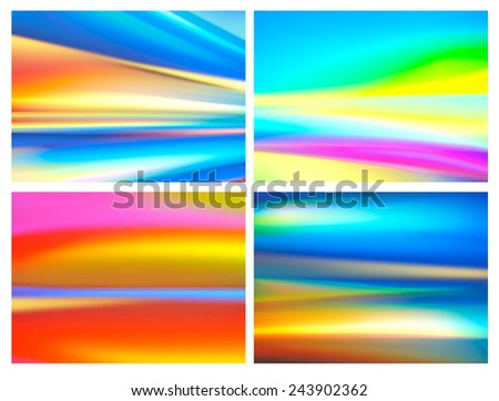 colorful background for brochure template etc.  - stock photo