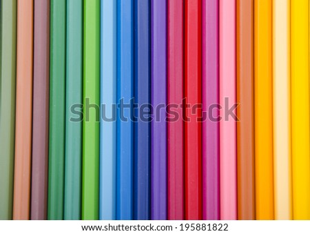 colorful background of pencil color