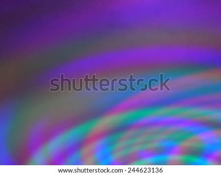 Colorful background with defocused lights and shadow. - stock photo