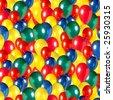 colorful ballons - stock photo