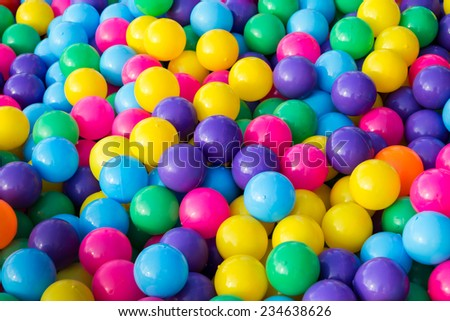 Colorful balls toy
