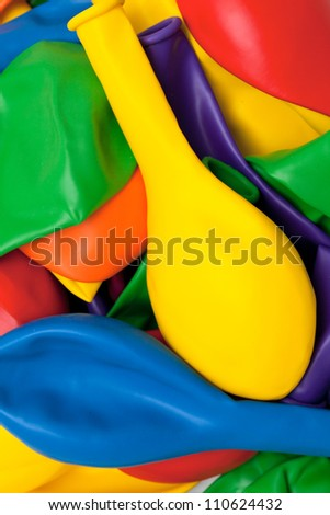 colorful baloons - stock photo