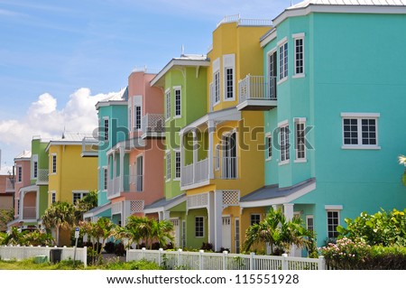 Colorful Beach Condominiums for Sale or Lease