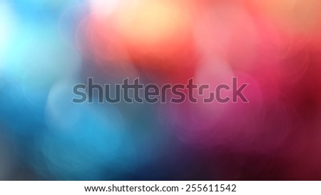 Colorful blurred abstract background - stock photo