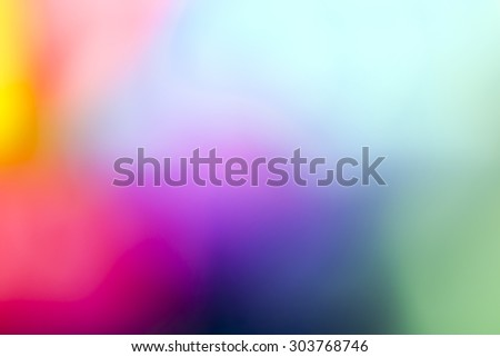 Colorful blurred background with multiple colors - stock photo