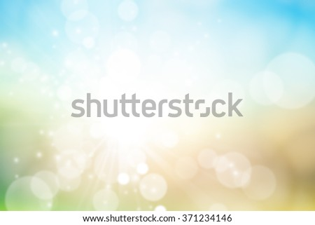 Colorful bokeh on background