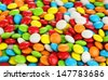 Colorful candies close up - stock photo