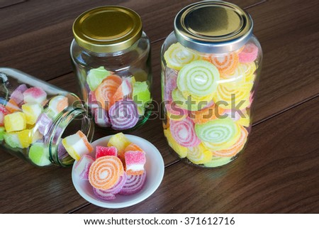 Colorful Candies for child - stock photo