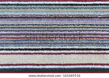 Colorful carpet texture  - stock photo