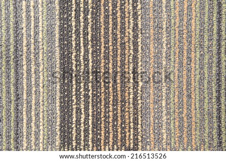 Colorful carpet texture Beautiful - stock photo