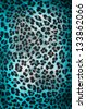 Colorful cheetah pattern - stock photo