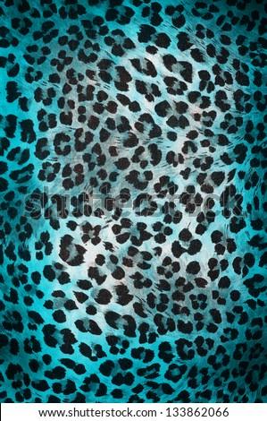 Colorful cheetah pattern - stock photo