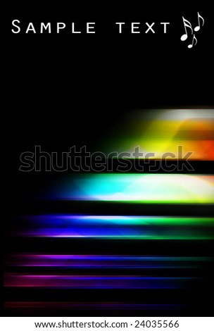 Colorful clean modern design background