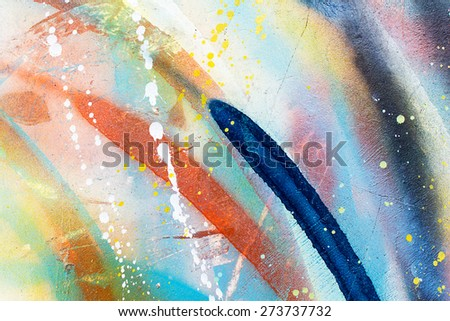Colorful concrete Wall texture background - stock photo