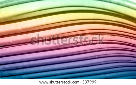 Colorful Curves - stock photo