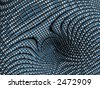 Colorful 3D illustration, background of a vortex. Physics concept. Computer generated render, image. - stock photo