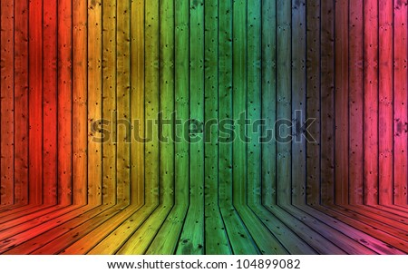 colorful decorative dirty vintage wooden background