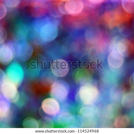 Colorful defocused lights useful as a background or texture