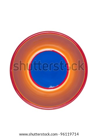Colorful Dishes - stock photo
