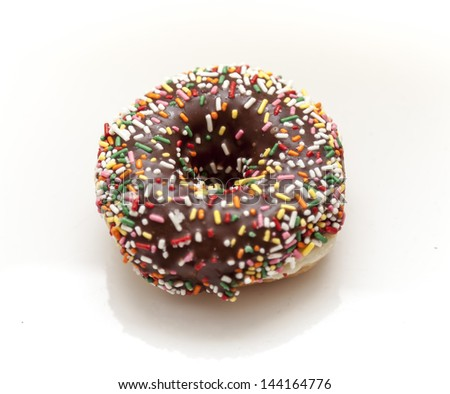 Colorful donuts - stock photo