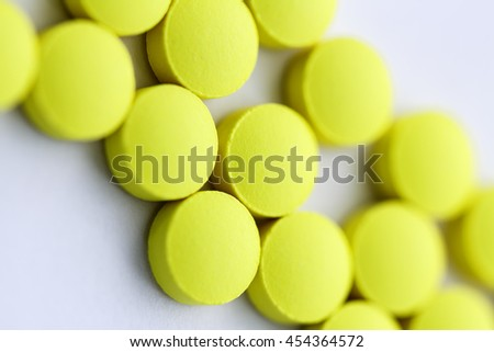 Colorful drugs and pills background / Drugs and Pills - stock photo