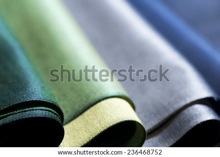 Colorful fabric background. - stock photo