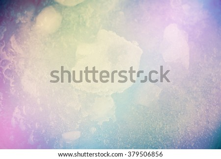 Colorful Fantasy Ice background. - stock photo