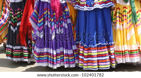 Colorful Fiesta Skirts