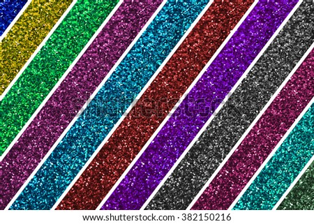 colorful glitter background texture defocused sparkling lights - stock photo