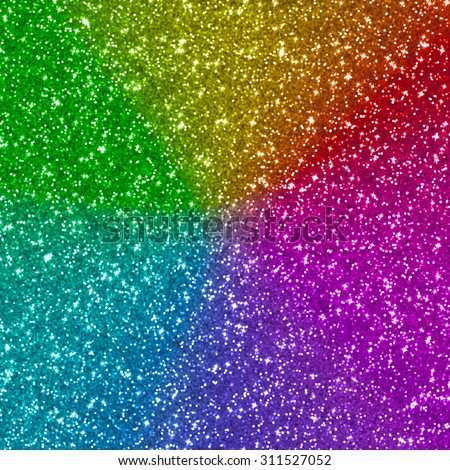 Colorful glitter for texture or background - stock photo
