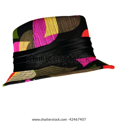 Colorful Hat - stock photo