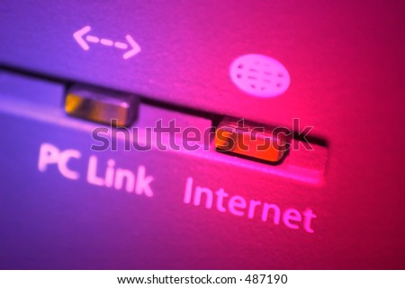 Colorful internet led