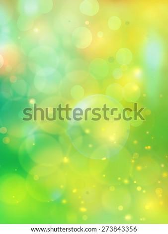 Colorful light effect background, illustration - stock photo