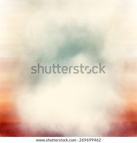 colorful medium format film background with grain and light leak - stock photo