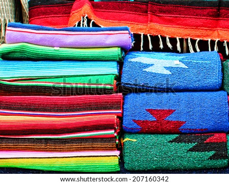 Colorful Mexican Textiles