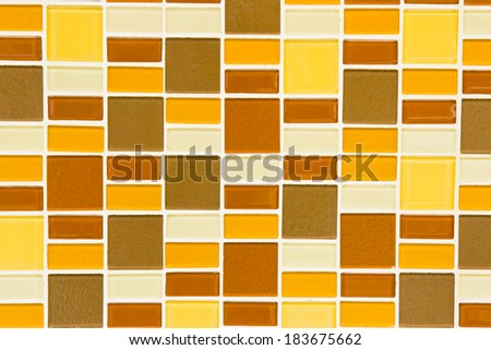 colorful mosaic for background - stock photo