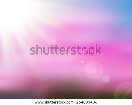 Colorful nature flower ,abstract blur background for web design,colorful, blurred,texture, wallpaper,illustration - stock photo