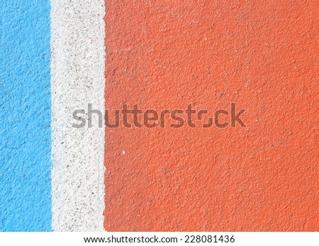 Colorful of Basketball field background - stock photo