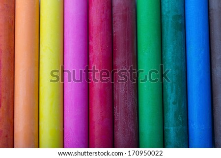 colorful oil pastels background