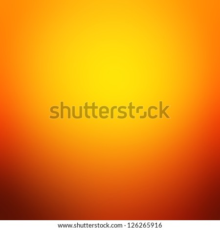 Colorful orange abstract background - stock photo