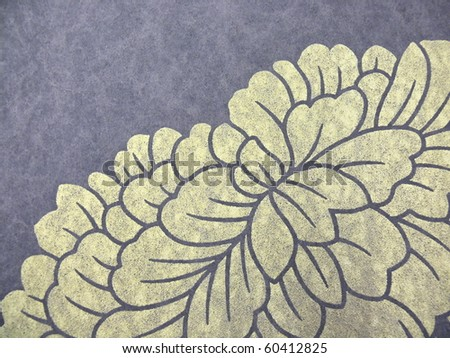 colorful oriental style parchment close up. More of this motif & more ornaments in my port. - stock photo