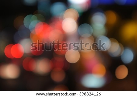 colorful out of focus dark tones background