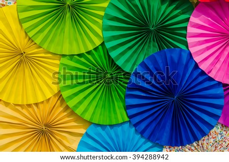 Colorful paper background - stock photo