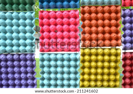 colorful paper used for background
